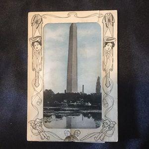 Very Old Washington DC pull postcard.